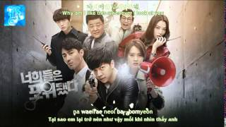Vietsub   Engsub   Kara   What's Wrong With Me   San E ft Kang Min Hee   You're All Surrounded OST