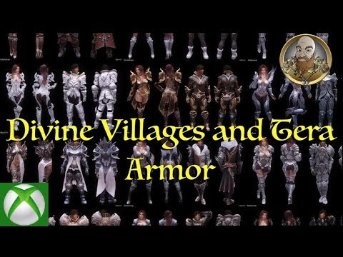 TES V - Skyrim MODs - Tera Armors Collection (ROBES) 1080p