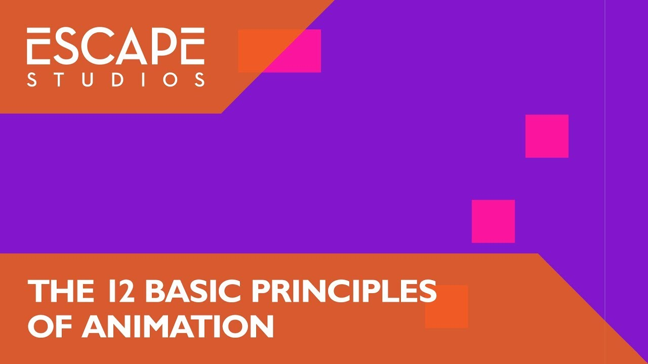 Webinar - 12 basic principles of animation for Motion Graphics