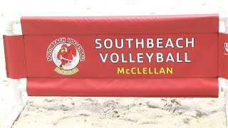 South Beach Volleyball Hosts Two-Day Tournament