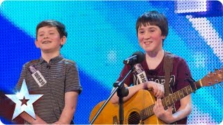 Jack and Cormac sing 'Little Talks'   Week 5 Auditions   Britain's Got Talent 2013