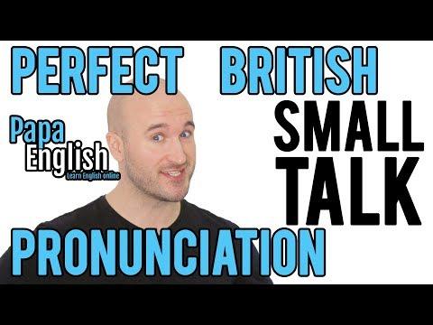 Perfect British Small Talk