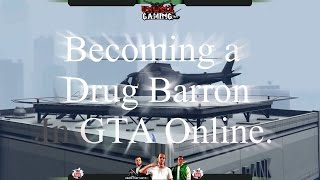 Becoming a drug barron in GTA Online