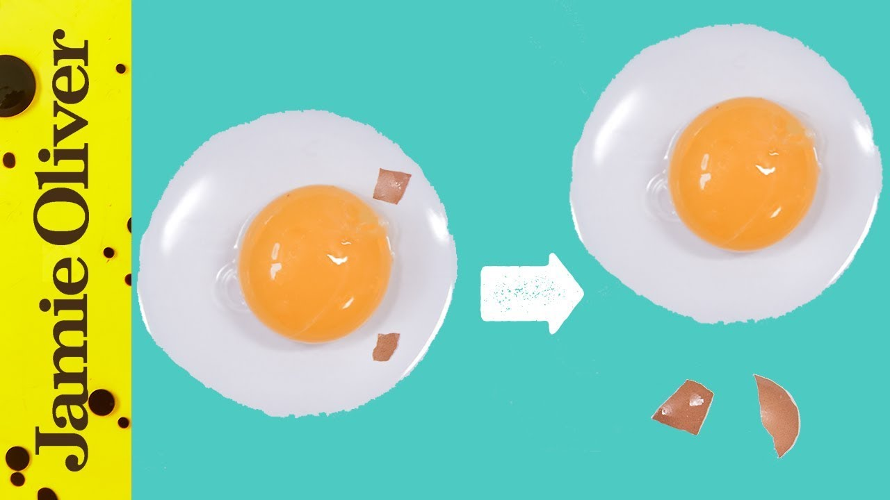 How to Remove Broken Egg Shell