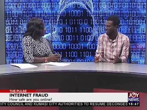 Internet Fraud - The Pulse on JoyNews (4-4-18)