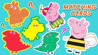 Peppa Pig | Matching Cards - Puzzle Games for Kids | Learn With Peppa Pig