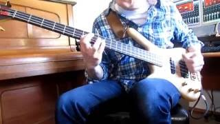 Doobie Brothers - Rockin' down the highway - cover (bass)
