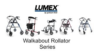 Lumex® Walkabout Rollator Series Youtube Video Link