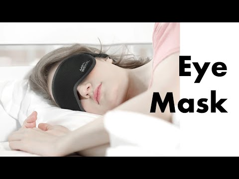 The Latest Patented Eye Mask With Better Coverage-GadgetAny