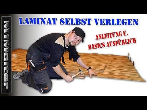 Laminat selbst verlegen - Anleitung & Basics ausführlich erklährt von M1Molter