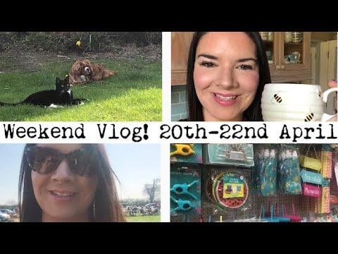 Weekend Vlog! Gigs | Car Boot Sales | Poundland | Pets | Garden