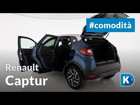 Renault Captur: interni e bagagliaio