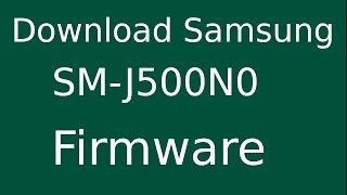 Flash Stock Firmware on Samsung SMJ327P SMJ327P In this