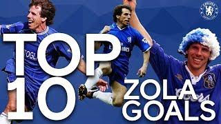 Top 10 Gianfranco Zola Goals! | Chelsea Tops