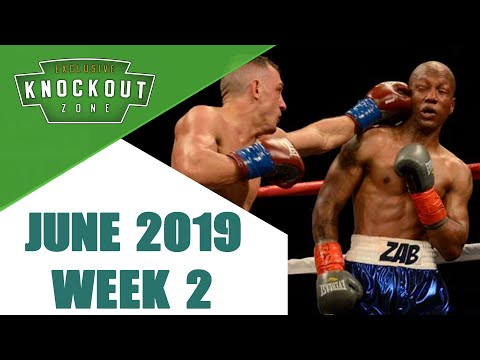 Boxing Knockouts | June 2019 Week 2