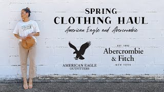 Clothing Haul Ft. American Eagle And Abercrombie