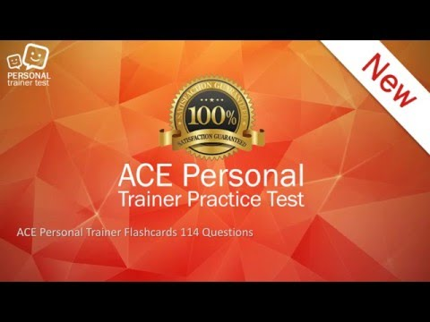 ACE personal trainer exam - YouTube