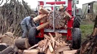 100 Ways to Split Firewood. Best Cleaver, Saw and Log Splitter Compilation
