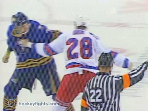Andrew Peters vs. Colton Orr