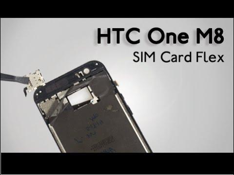 SIM Card Flex HTC One M8 Repair Guide