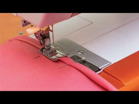 Sewing technique: how to sew a flare or a curve part in a neat way