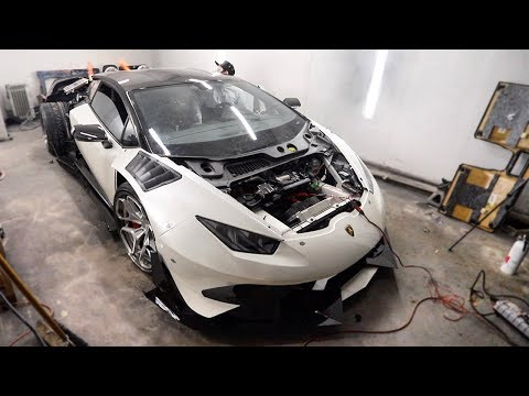 The Huracan is Back! And Makes Flames! 2 Step Activated!!!