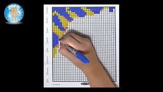 Mindware Mystery Mosaics Book 1 Coloring Sample Page Review