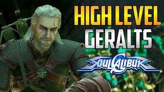 SC6 ▰ Highest Ranked Geralt Players  【Soul Calibur 6】