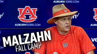 Auburn's Gus Malzahn recaps final practice of fall camp