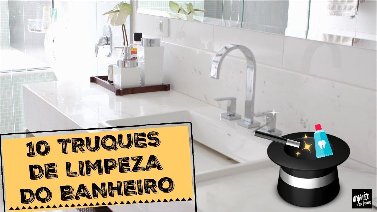 10 TRUQUES DE LIMPEZA DO BANHEIRO