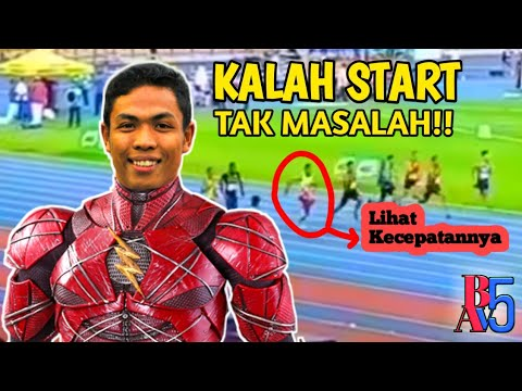 THE FLASH INDONESIA.!! Lalu Muhammad Zohri Juara Lagi Di Ajang Malaysia Grand Prix Atletik Open 2019