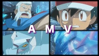 Abomasnow  - (Pokémon) - Pokemon XYZ Ash Vs Wulfric Part 1 AMV Until It's Gone (Greninja Vs Avalugg)