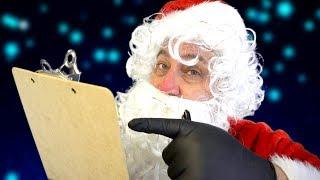 Santa Claus Good List Invite 2017 [ASMR]