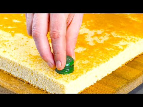 Push A Screw Top Into The Cake For Sweet Results!