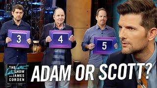 Can Adam Scott Tell Adams From Scotts?