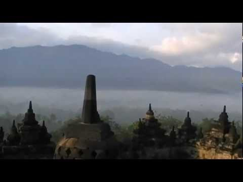 Borobudur, early morning Java Indonesia