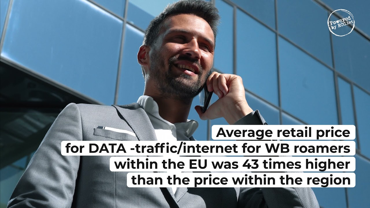 Roaming costs between Western Balkans & EU - process of lowering the prices