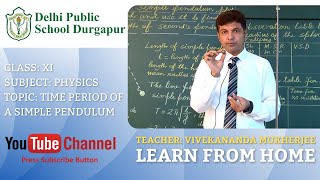 CLASS XI   TOPIC: TIME PERIOD OF A SIMPLE PENDULUM   PHYSICS   LAB   DPS DURGAPUR