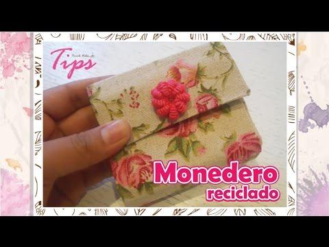 Regalo Para Mama Manualidades Monedero De Tetrapack Manualidades