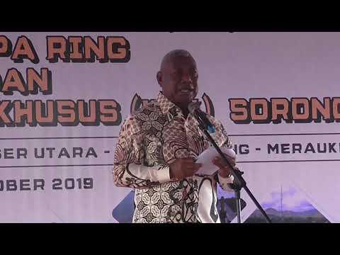 Peresmian Operasional KEK Sorong di Papua Barat