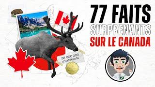 77 faits surprenants sur le Canada