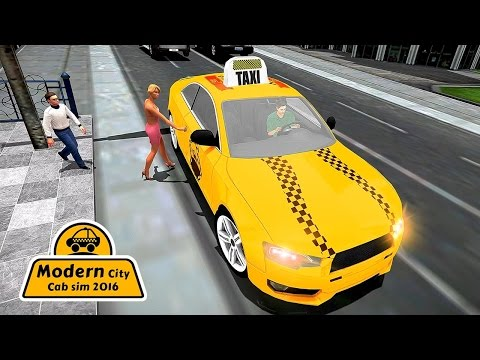 Modern City Cab Simulator 2016 (by Zing Mine Games Production) Android Gameplay [HD]