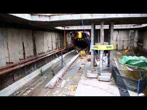 Budowa tunelu pod Martwą Wisłą w Gdańsku