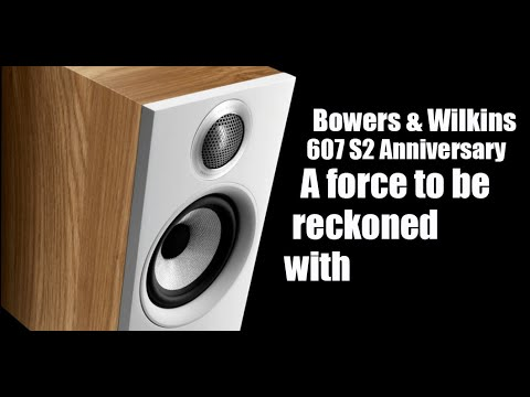 External Review Video zfw8Bx6__cg for Bowers & Wilkins 607 S2 Anniversary Edition Bookshelf Loudspeaker