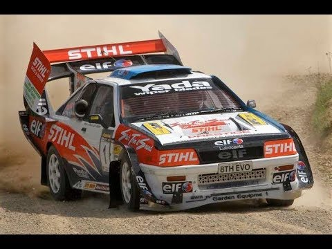 700+Hp Mitsubishi Cordia V8 4wd Concept // Hayden Paddon at Ashley Forest RallySprint 2011