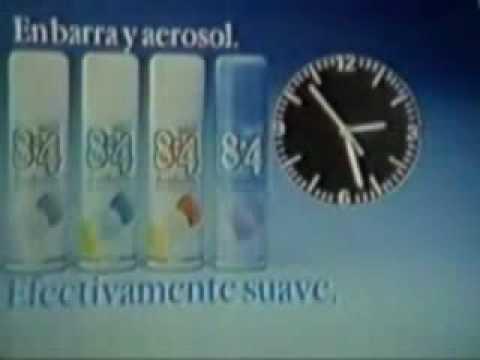 Comercial Desodorante 8x4 1990 + Generico Canal 13 1990