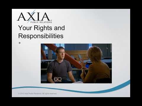 Media and spokesperson training: Prepare for news interviews ...