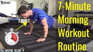 7-Minute Morning Workout Routine For Men (Boost Your Metabolism)