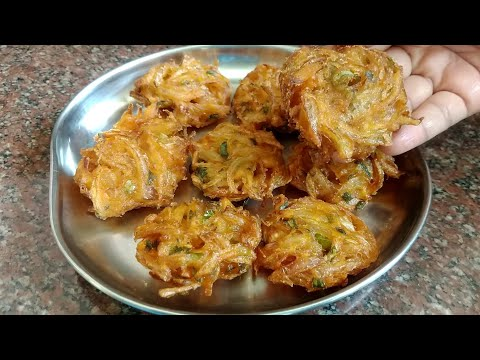 , title : 'Easy and simple snack recipe   instant snack recipe   5 minutes snacks   Onion snack recipe