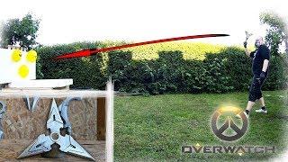 Casting Silver Throwing Stars   Genji Shuriken (Overwatch)